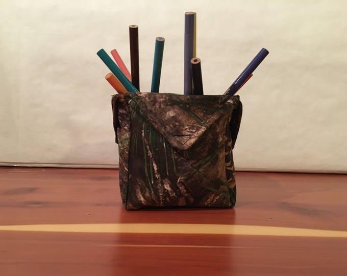 Realtree Camouflage, fabric organizer.