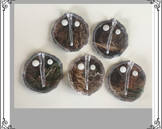 Belly Buddies, (G and Mic-Key covers or pads) Feeding tubes. (Camouflage 5 pack)