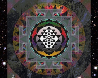 Sri Yantra, Spiritual Home, Sacred Geometry, Yantras, Vastu Home, Healing Art, Positive Energy