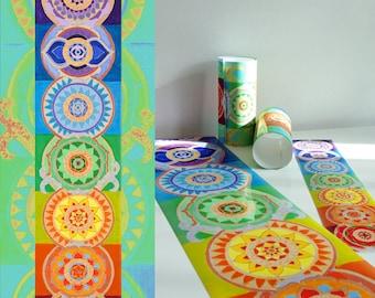 Beautiful Chakra Poster, 7 Chakras Poster, Healing Arts, Yoga Art, Reiki, Zen, Chakra Art, print on canvas