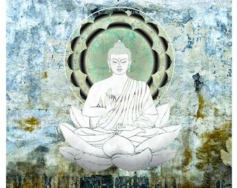 Buddha Art, Canvas print