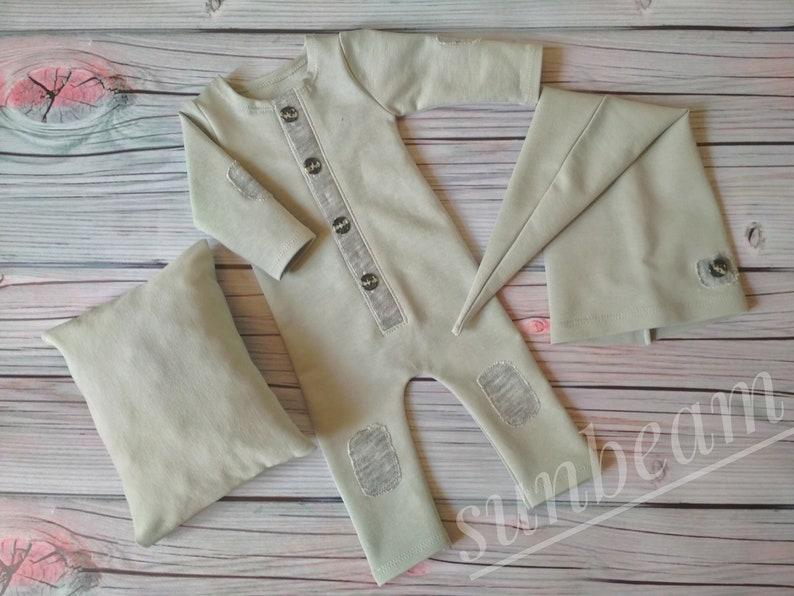 Newborn Hat Newborn Boy Outfit Photography Newborn Romper,Newborn Bonnet Baby Props Newborn Outfit,Newborn Pants Set,Newborn Pillow