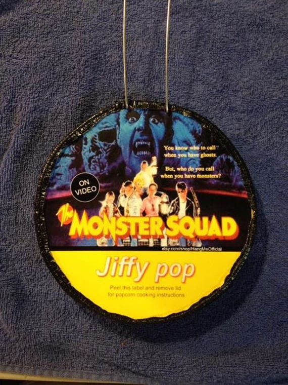 The Monster Squad Jiffy Pop Etsy