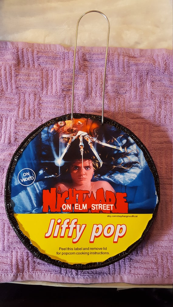 A Nightmare On Elm Street Jiffy Pop Etsy