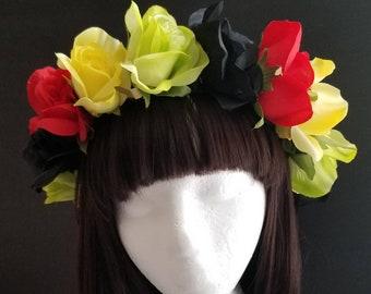 Rasta Rose Flower Crown 3e54a6097b7