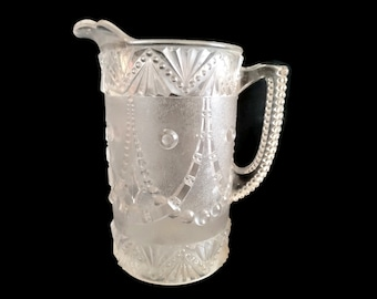 EAPG Pitcher in GARLAND (OMN) by Unknown Maker, 1891