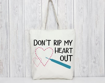 Don't Rip My Heart Out SVG Cut File for Valentine's Day Projects
