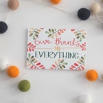 Thanksgiving Note Cards - Autumn or Fall Greeting Cards - 1 Thessalonians 5:18 - Thank You Notes - Greeting Cards - 12 Cards With Envelopes