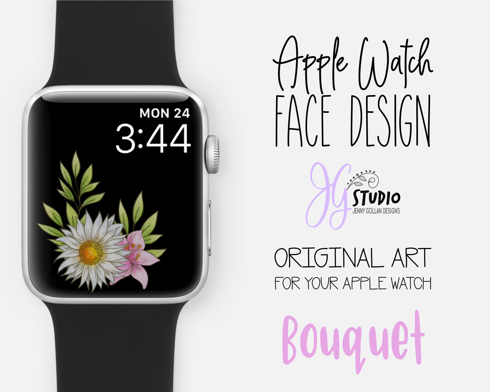 Apple Watch Wallpaper Bouquet