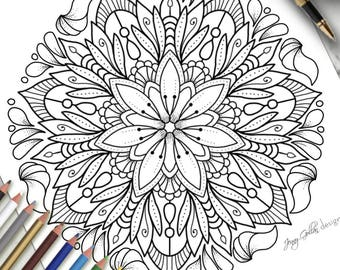 Printable Colouring Page Magic Happens