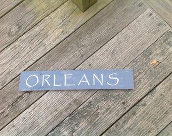Orleans Sign