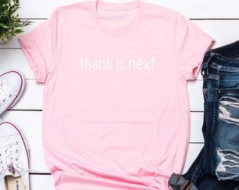 27197cecd THANK U NEXT Women's Tshirt Women's Tshirt Thank you Next Music Lover Gift  Graphic Tee Tumblr Shirt Christmas Gift Ideas Womens Fashion