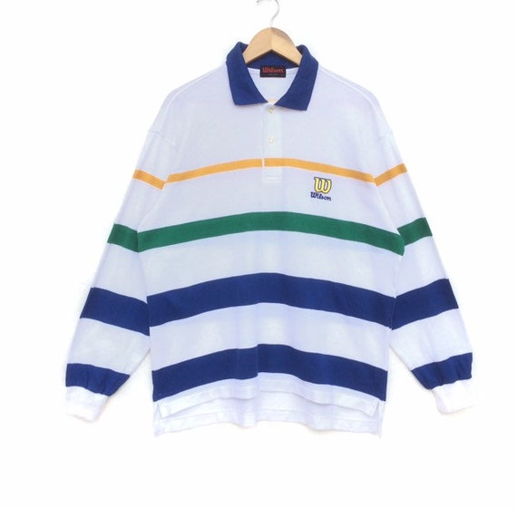 90s Vintage Wilson Polo striped