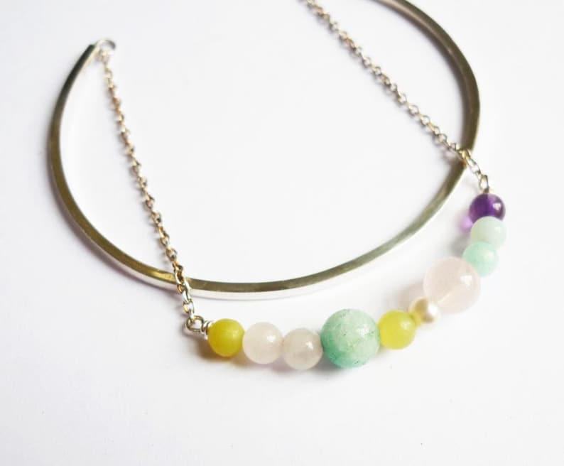 bracelet,amazonite,925 sterling silver,chain,water pearls,bangle duo,double bangle