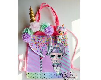 LOL Unicorn Bag and Headband