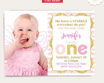 first birthday invite etsy