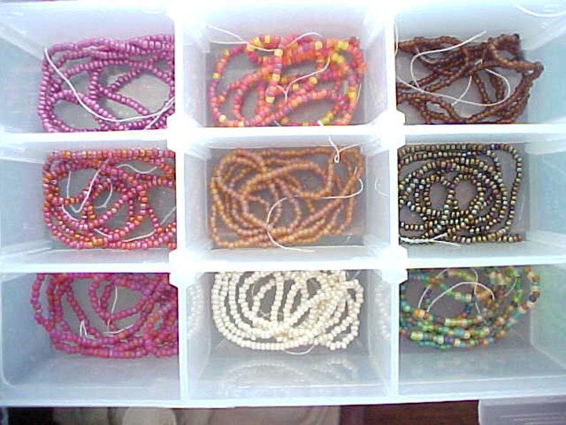 Huge Lot 36 Czech Glass Rainbow Beads 110 Czech Seed Beads Mix Rainbow Seed Bead Kit Rainbow Bead Mix 2mm Spacer Beads Mixed Color Beads