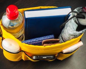 Storage basket, Purse organizer, Mother's day gift, Insert handbag, Organizer bag, Washable bag, Insert waterproof organizer