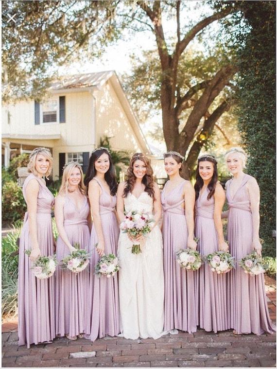 Lilac Colored Bridesmaid Dresses