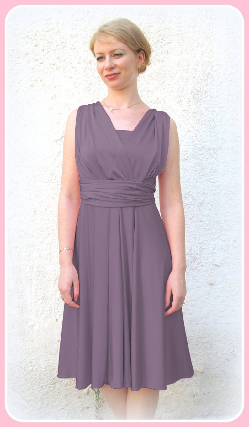 73287b54caf Infinity Dress in color dark radiant orchid Bridesmaid dress