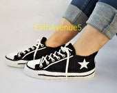 Chuck Taylor Classic Colour Low Top Navy Black Converse Slippers, Crochet Converse Seasonal Low Top Men 39 s Classic Charcoal Black Slippers