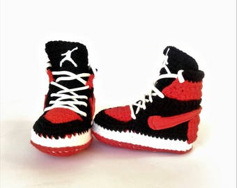 Air Jordan Baby Crochet Sneakers a5ec3b1a0