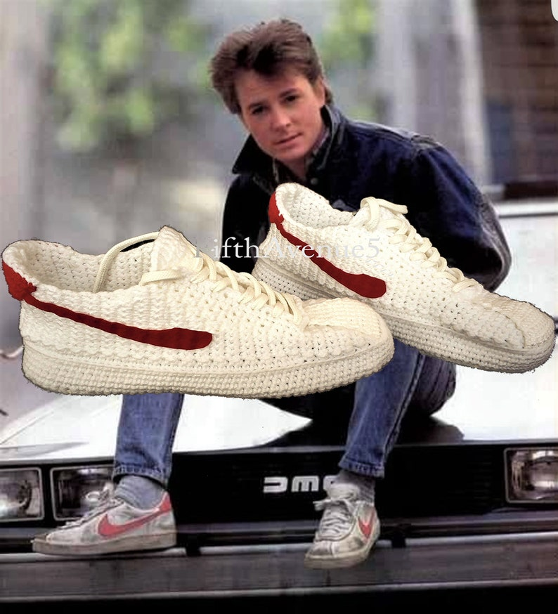 a1b3fdd7080fd7 Back to the Future Marty McFlys Bruin Crochet Knitting Style