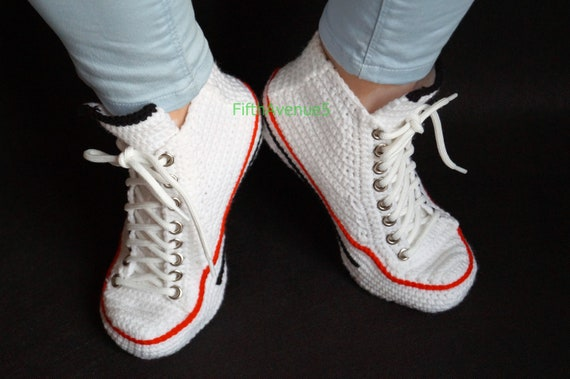Crochet Sexy Embrasser Pour Kiss Chaussures Converse Sneakers Femmes Maison Converse Crochet Cadeau Converse Chaussons Slipper Emoji Me qqr5Fxw1
