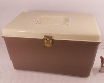 Vintage Wilson Spool Storage Container Mustard Yellow Plastic Etsy