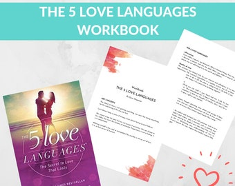 The 5 Love Languages Workbook The Five Love Languages Summary The Love Language Quiz Gary Chapman Love Test The Love Language Test