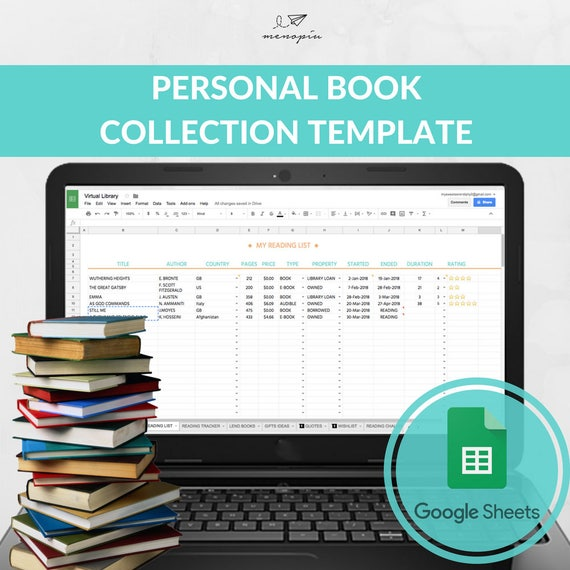11-12 excel book collection template | lascazuelasphilly. Com.