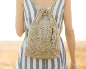 Wildrose Backpack Crochet Pattern