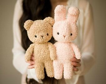 Boucle Bear & Bunny Crochet Patterns