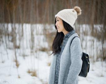 Simple Stockinette Hat Knit Pattern