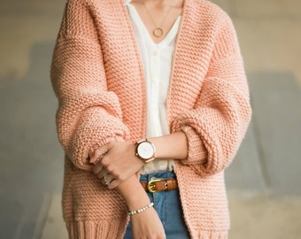 Downtown Cardigan Knit Pattern