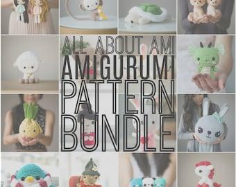 All About Ami Amigurumi PATTERN BUNDLE
