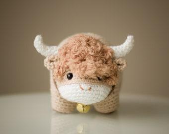 Chinese New Year Ox Crochet Pattern