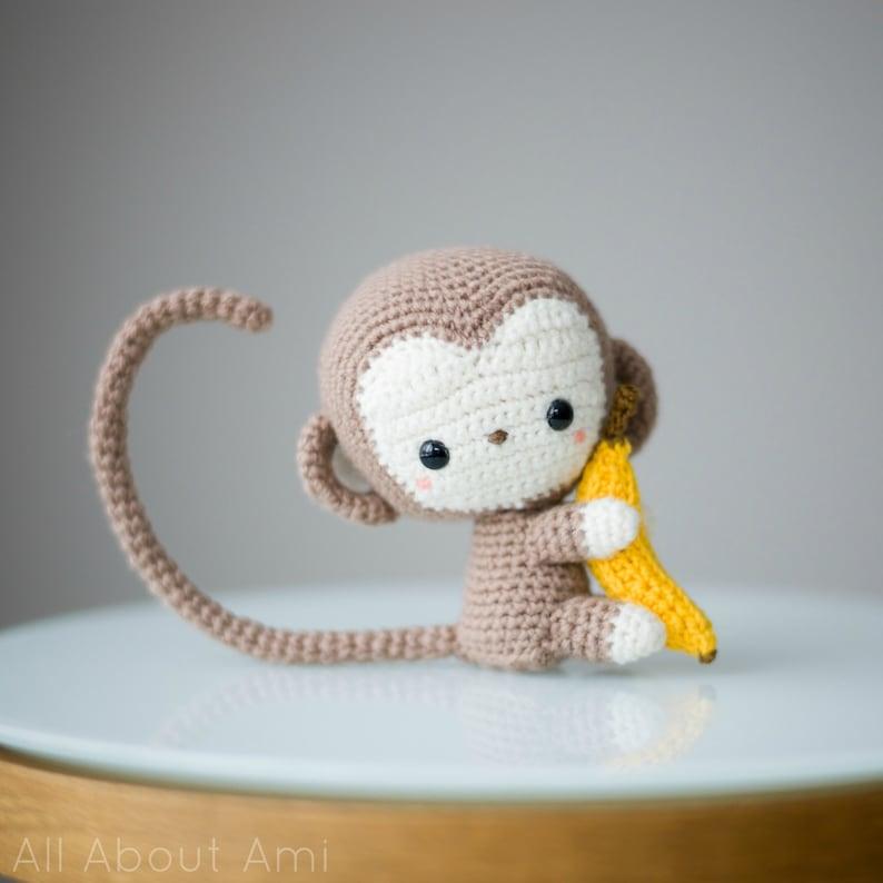 Chinese New Year Monkey Crochet Pattern image 0