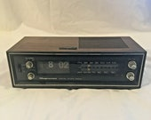 Vintage Magnavox Digital Number Flip Clock Alarm Radio - 1R1773 Parts or Repair