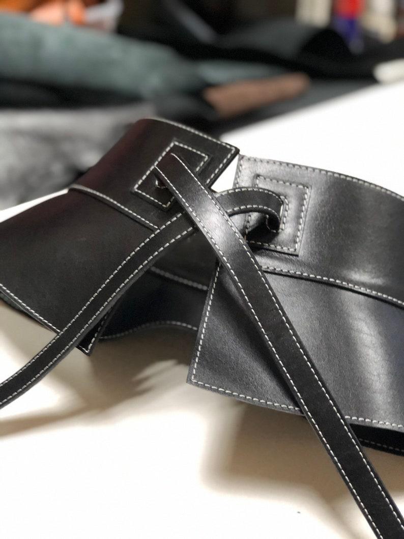 Black Leather belt Plus size belts, skirt,Black Belt Real Leather Belt  Handmade Belt