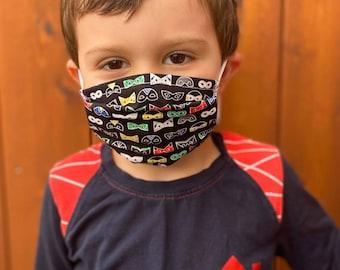 BACKGROUND (GARCONS 2-9 YEARS) - Barrier masks - Non-medical masks - Protective masks - Anti-projection masks