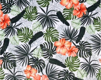 Bath apron - Exotic leaves