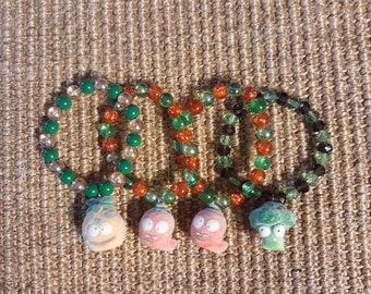 Repurposed Grossery Gang Moldy Veg Bracelet