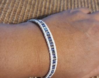Hand-woven Beaded Bracelet