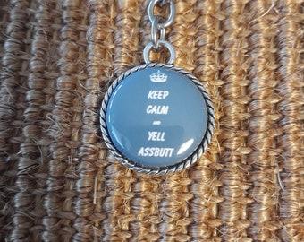 Assbutt Keychain