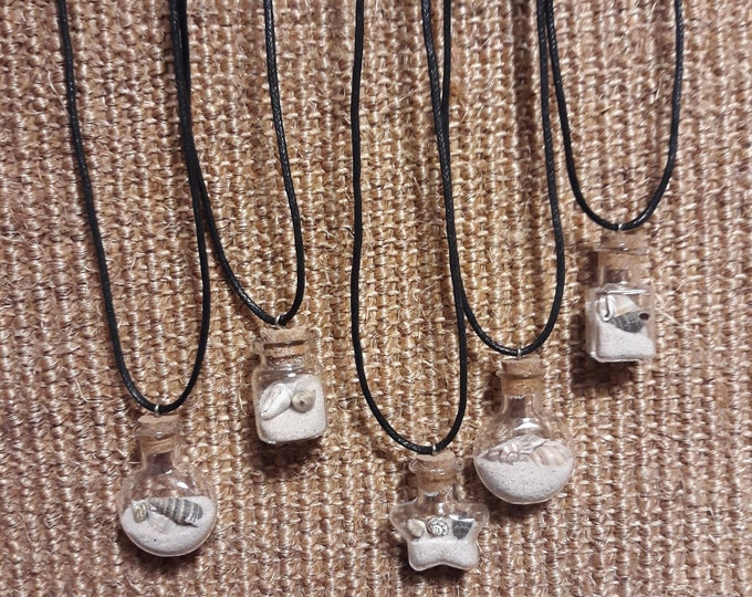 Featured listing image: Beach in a Bottle Necklace