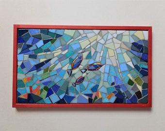 "Mosaic painting ""Hope 2"""