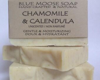 Chamomile & Calendula Unscented Soap