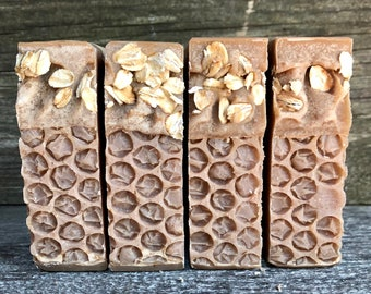 Goat Milk & Cinnamon/ Handmade Soap / Goat Milk Soap / Natural Skin Care / Cinnamon Soap