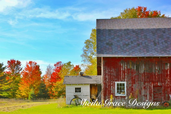 & Door Count Photography Barn Photo Fall Colors Wisconsin